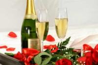 Champaign and Roses